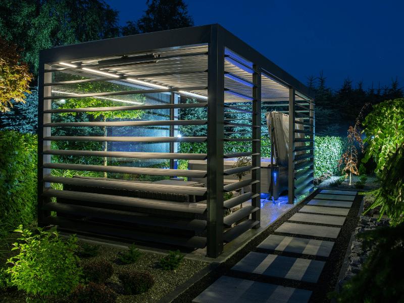 tuin verlichting aansluiten buiten